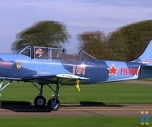 Yakovlev Yak-52 PH-DTM – Teuge Airport [Video]