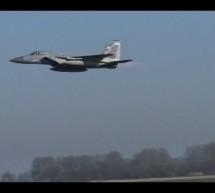 Full Afterburn Take-off – FRISIAN FLAG 2015 [Video]