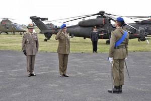 L'arrivo del capo di stato maggiore Errico a Viterbo