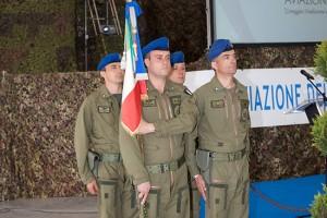 La cerimonia per l'anniversario Aviazione dell'Esercito