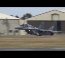 Vertical Take off MIG 29 [Video]
