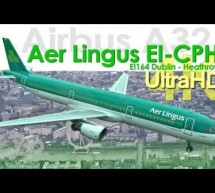 Aer Lingus Airbus A321 EI-CPH Dublin Airport to London Heathrow 4K UltraHD [Video]