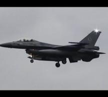 IMPRESSIVE BACKTRACK LANDING 6x F-16 LEEUWARDEN AIR BASE [Video]
