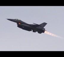 BEAUTIFUL Long AFTERBURNER 6x F-16 Take Off [Video]