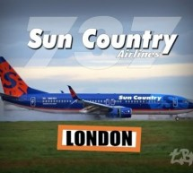 Sun Country Airlines London Stansted Airport SunCountry Boeing 737 landing & takeoff Plane [Video]