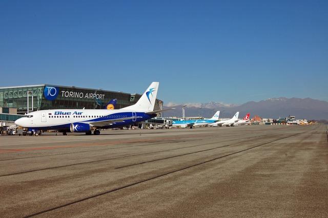 L aeroporto di torino festeggia il nuovo record di for Il porto torino