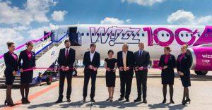Wizz Air 100th A320 family