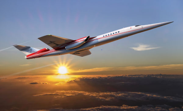 Aerion Boeing AS2