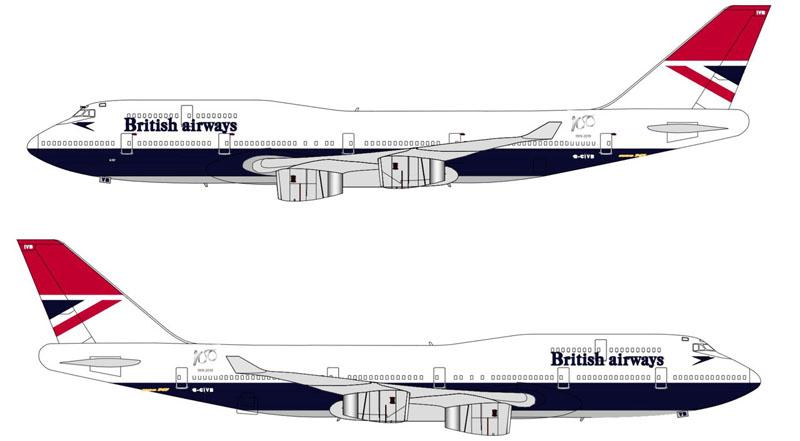 BA 747 Negus