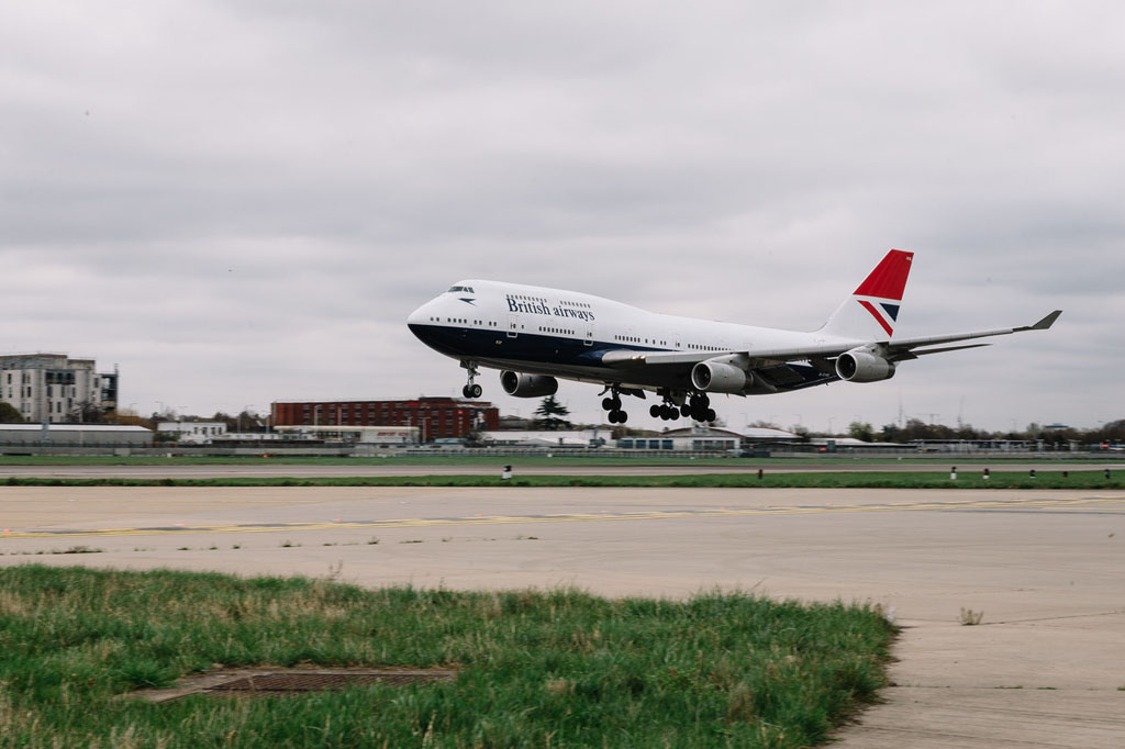 L'ultima livrea storica di British Airways arriva a Heathrow