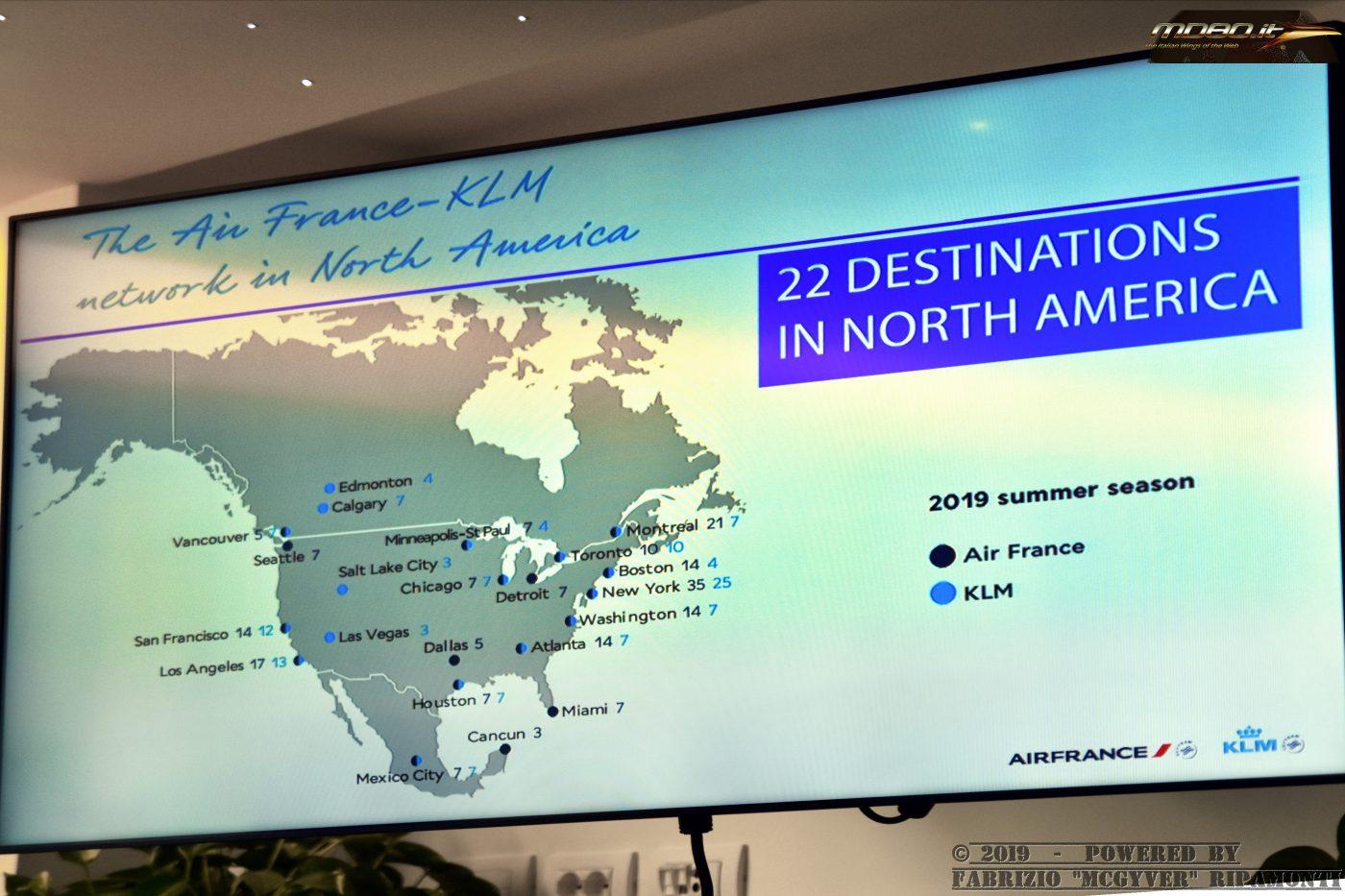 Network AF-KL USA - summer 2019