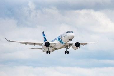 Airbus A220 300 EgyptAir