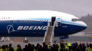 777X Maiden Flight - aircraft