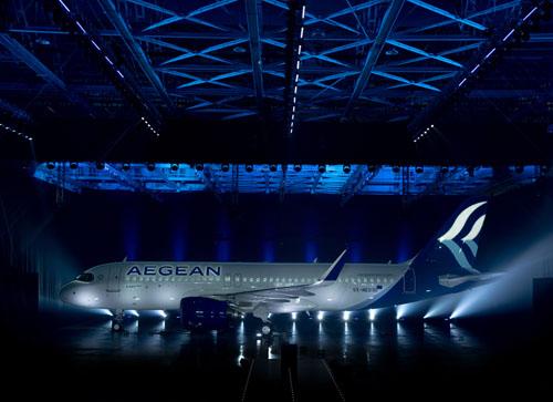 Airbus A320neo PW Aegean